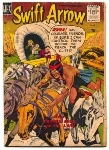 Swift Arrow #3 1957- Western Indian stories- VG-
