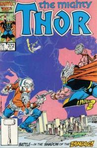 Thor (1966 series) #372, NM- (Stock photo)