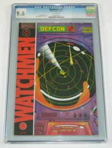 Watchmen #10 CGC 9.6 alan moore - dave gibbons - dc comics - july 1987