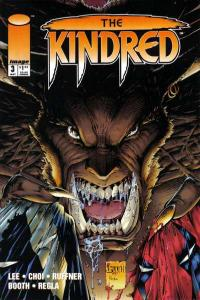 Kindred #3, NM + (Stock photo)