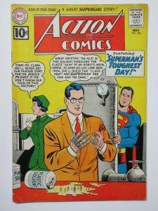 Action Comics (November 1961) #282 Superman's Toughest Day! Android Hijinx VG