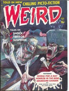Weird Vol. 2 #4 1967-Rulah, Jungle Girl-monsters-weird menace-VG