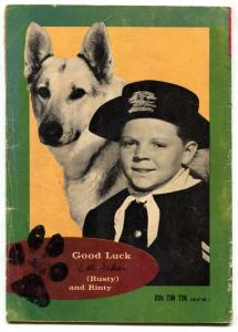 Rin Tin Tin and Rusty #1 1963- GOLD KEY- German Shepherd G
