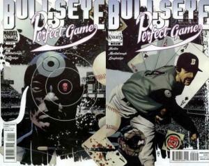 BULLSEYE PERFECT GAME (2011) 1-2  complete story! COMICS BOOK