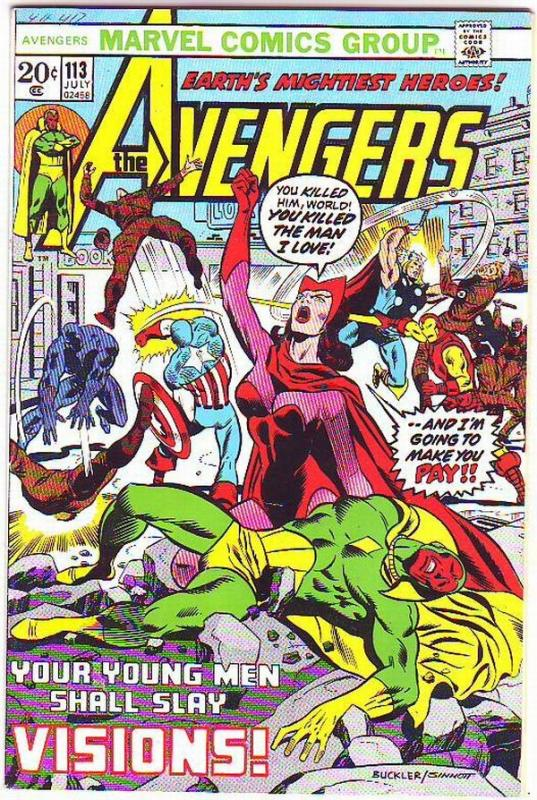 Avengers, The #113 (Jul-73) FN/VF Mid-High-Grade Avengers