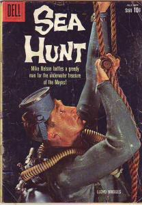 Sea Hunt #6 (Jul-60) GD/VG Affordable-Grade Mike Nelson