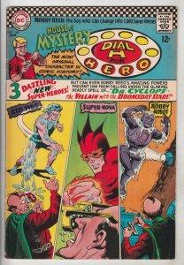House of Mystery #164 (Jan-67) FN/VF Mid-High-Grade Martian Manhunter, Dial H...