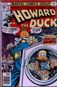 Howard the Duck #21 - 1st Series - 9.0 or Better