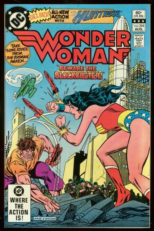 WONDER WOMAN #294 1982-DC COMICS-HUNTRESS-GENE COLAN VF