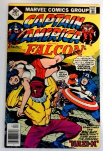 Captain America #211 Marvel 1977 FN+ Bronze Age Comic Book 1st Print