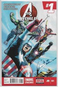 Avengers World   #  1 NM (All-New Marvel Now)