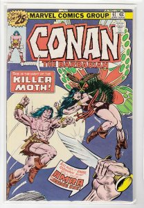 CONAN THE BARBARIAN (1970 MARVEL) #61 FN A09451
