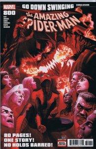 Amazing Spider-Man #800 2018 Marvel Comics Red Goblin Alex Ross