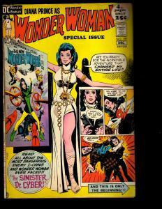 Wonder Woman # 197 VG/FN DC Comic Book Justice League Batman Superman Flash NE3
