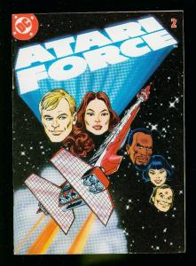 ATARI FORCE #2 1982- DC DIGEST SIZE COMIC- HIGH GRADE VF/NM