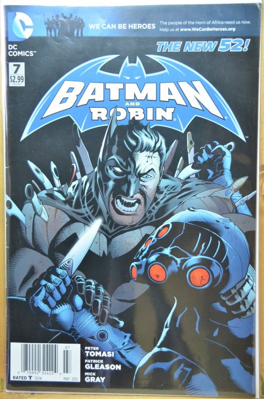 Batman and Robin #7 (2012) VF-NM