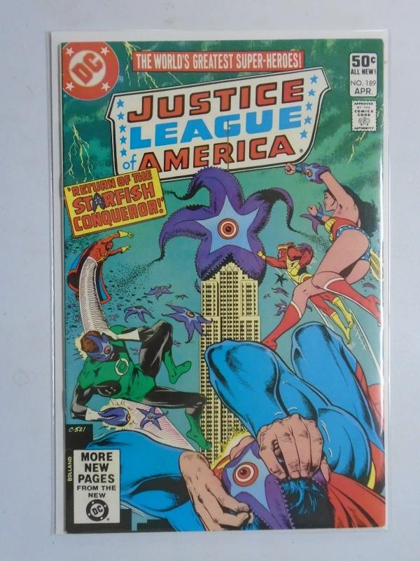 Justice League of America (1960 1st Series) #189 - 6.0 - 1981
