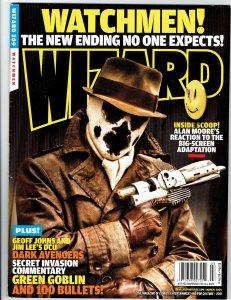WIZARD: GUIDE TO COMICS MAGAZINE (1991 Series) #209 WATCHMEN