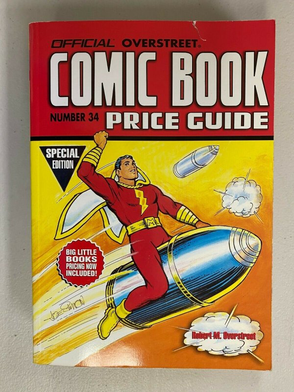 Overstreet Price Guide #34 Softcover 6.0 FN (2004)