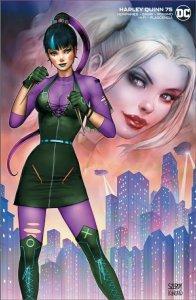 Harley Quinn #75 VIRGIN Szerdy Kincaid Punchline Joker Batman NM+ Presale