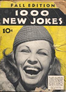 1000 New Jokes 9/1937-Dell-Bette Davis-Bill Holman-Chon Day-Jackie Cooper-P
