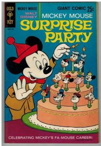 MICKEY MOUSE SURPRISE PARTY 1 VF-NM DELL GIANT