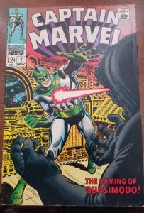 Captain Marvel #7-High Grade!! FN