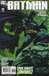 Batman: Journey into Knight #12 VF/NM; DC | save on shipping - details inside