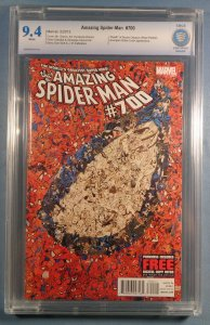 Amazing Spider-Man #700 CBCS 9.4 White Pages