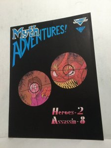 Myth Adventures! 3 Vf Very Fine Magazine Warp Graphics