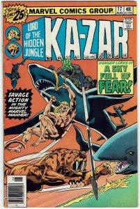 Ka-Zar #17 (1974 v2) FN