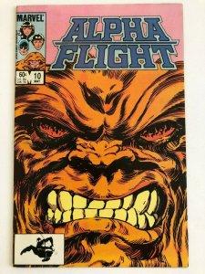 Alpha Flight #10 Marvel 1984 VF+