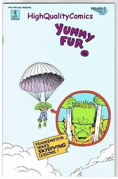 YUMMY FUR #16, VF/NM, Chester Brown, Indy, Vortex, 1986, more in store