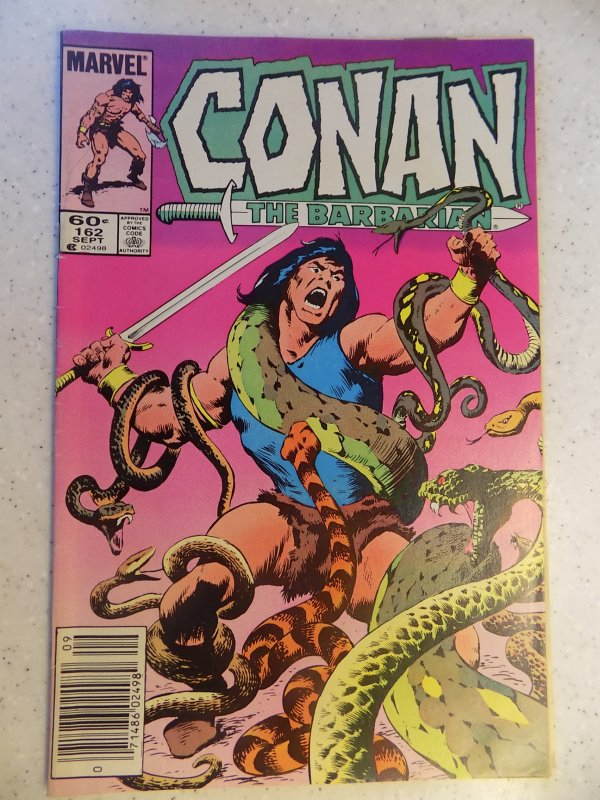CONAN THE BARBARIAN # 162