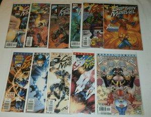 Captain Marvel V4 #0,5,7,12,16,19-21,24-27,29,31,33,34 V5 #4,5,7,9,11,17-19