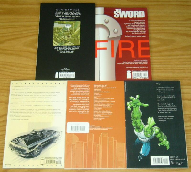 Lot of (5) Image TPBs - savage dragon - the ride - the sword (value: $72.91)