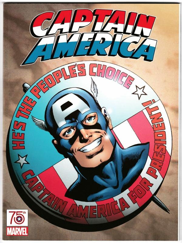 Captain America 75th Anniversary Magazine John Byrne Variant (Marvel, 2016) NM