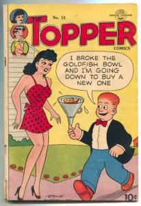 Tip Topper #12 1951- Fritzi Ritz- Li'l Abner VG