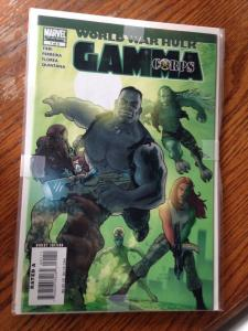 Gamora Corps 1-4 set World War Hulk Tie In NM avg. grd.