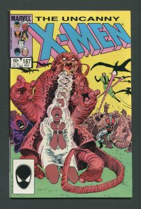 Uncanny X-Men #187 (1st Series 1963) / 9.0 VFN/NM  November 1984