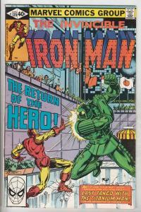 Iron Man #135 (May-80) VF/NM High-Grade Iron Man
