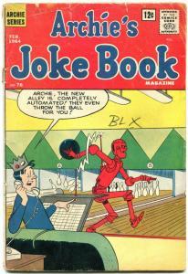 Archie's Joke Book #76 1964- Robot Bowling cover- Jughead- G