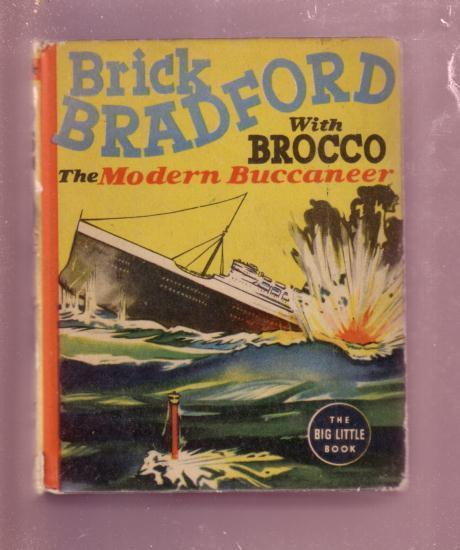 BRICK BRADFORD AND BROCCO MODERN BUCCANEER #1468 BLB FN/VF
