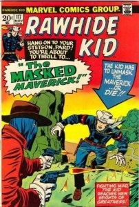 Rawhide Kid 117 The strict VF+ 8.5 High-Grade 100s of Marvel Western up
