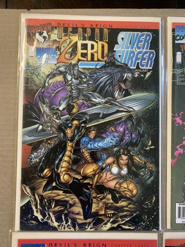 Marvel Top Cow Crossover Devil's Reign Comic Set