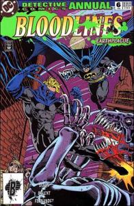 DC DETECTIVE COMICS (1937 Series) Annual #6 VF