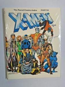 Marvel Comics Index #9  A - X-Men - see pics - VF+ - 1982