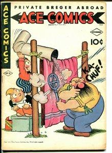 Ace #81 1943-McKay-Phantom-Prince Valiant-Hal Foster-Raymond-Blondie-VF-