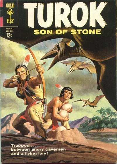 Turok: Son of Stone (1954 series) #36, VG+ (Stock photo)