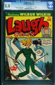 Laugh Comix #48-CGC 5.0-Headlight cover-Last issue-RARE-0225947006